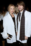 Rachel Zoe and Rodger Berman looked stylish even in lab coats at the 2011 MOCA Gala.
