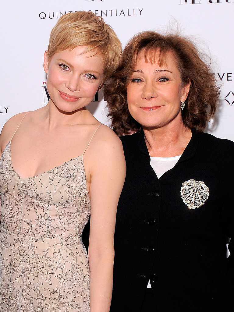 Michelle Williams posed with Zoe Wanamaker.