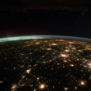 International Space Station Video of Earth