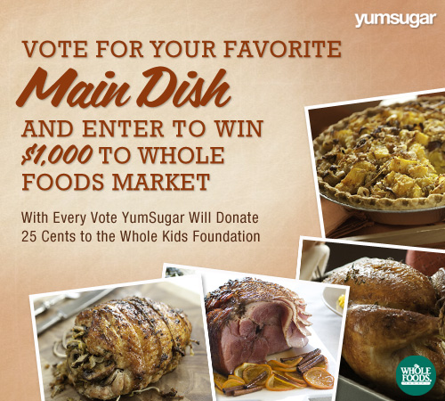 Thanksgiving Main Dish Recipes and Whole Foods Market Gift Card