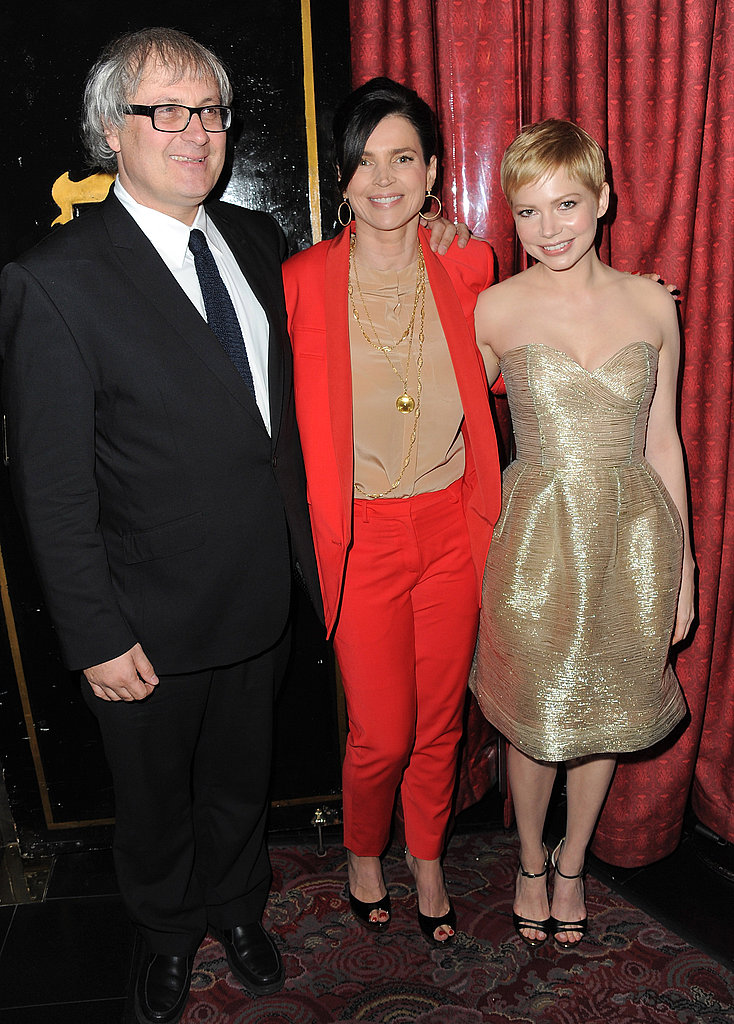 Michelle Williams, Julia Ormond, and Simon Curtis met up at LA's AFI Fest.