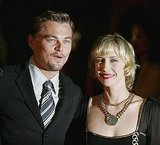 Leonardo DiCaprio and costar Vera Farmiga attended the red-carpet premiere of The Departed in October 2006.