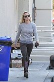 Reese Witherspoon layered shades of gray together.