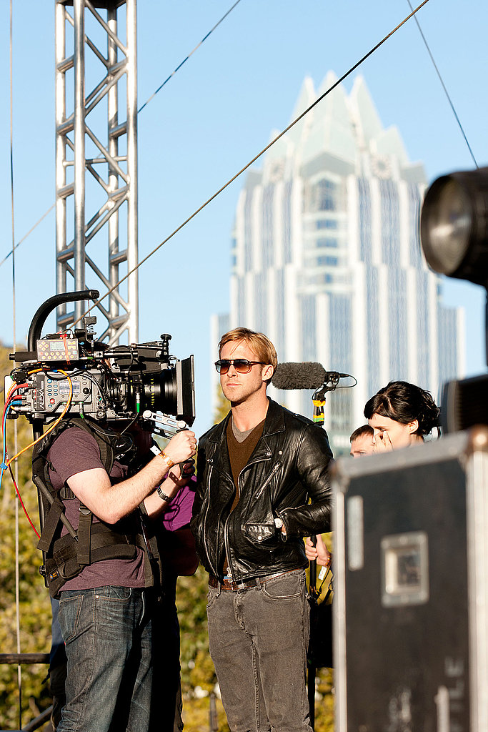 Ryan Gosling putting in work on a new film in Texas.