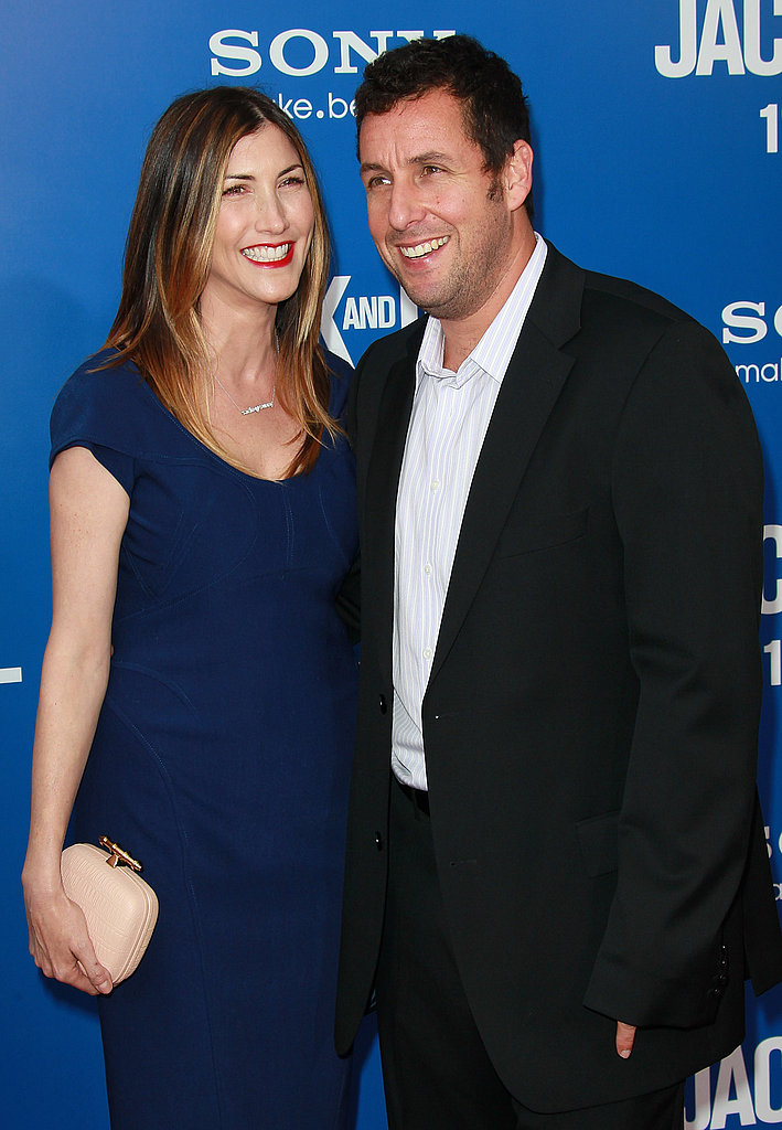 Adam Sandler and Jackie Sandler really enjoyed each other's company in LA.