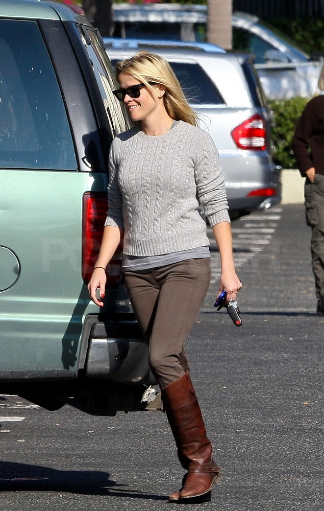Reese Witherspoon was spotted running errands solo around LA.