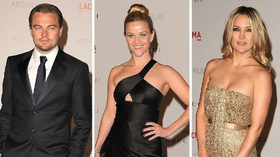 Video: Leonardo DiCaprio Pays Tribute to Clint Eastwood With Reese, Kate, and More!