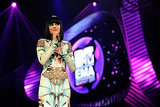 Jessie J wore a creative ensemble on stage.