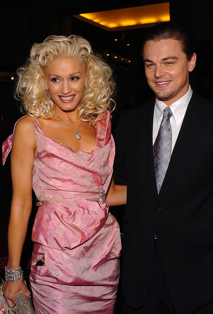Leonardo DiCaprio and his The Aviator costar Gwen Stefani were all smiles at the movie's premiere in December 2004.
