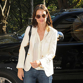 Katie Holmes Leaving a Meeting and Suri Cruise Pictures