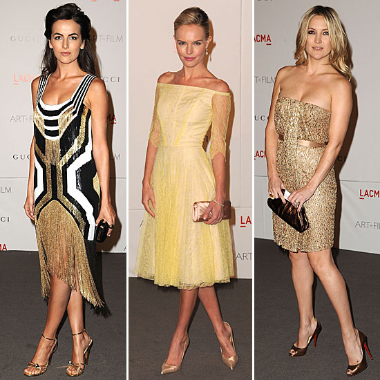 Best of the Weekend: LACMA's A-List Red Carpet
