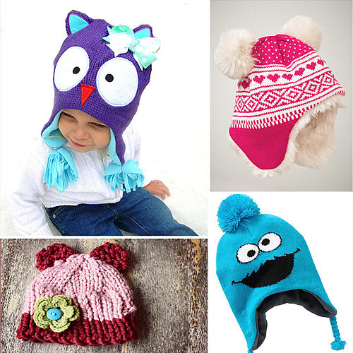 Cute Knit Winter Hats For Baby and Toddler