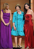 Laura Bush, Barbara Bush and Jenna Bush accepted their Women of the Year awards.