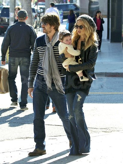 Rachel Zoe and Rodger Berman took Skyler to lunch in LA.