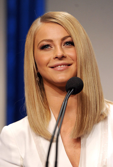 Julianne Hough announces the 2011 People's Choice Awards nominees in LA.