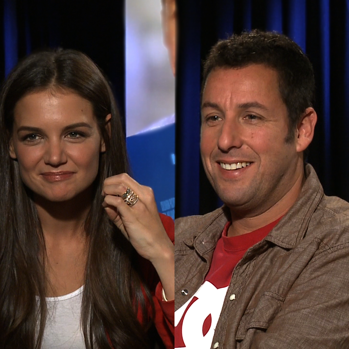 Katie Holmes and Adam Sandler Video Interview For Jack and Jill