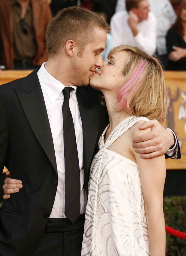 Ryan and Rachel couldn't keep their hands off of each other on the SAG Awards red carpet in 2007.
