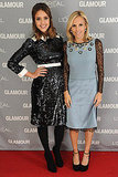 Jessica Alba and Tory Burch both sported Tory's designs to the 2011 Glamour Women of the Year Awards.