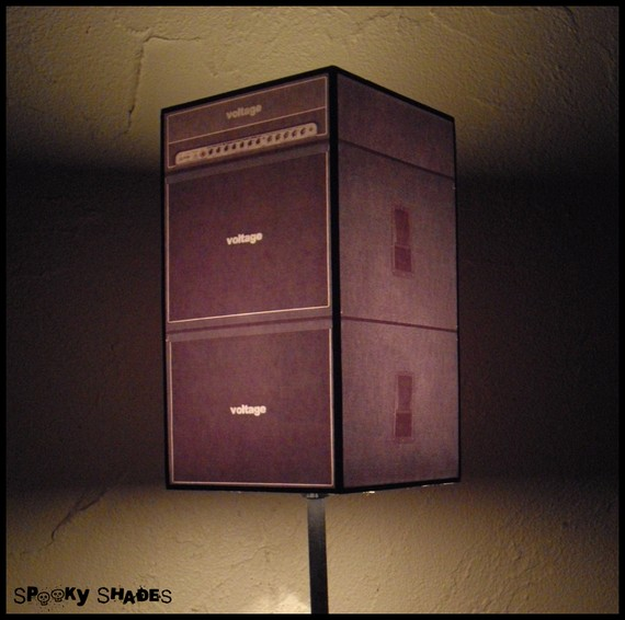 Guitar Amp Lamp ($69)