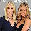 Jennifer Aniston, Jennifer Lopez, and Jessica Alba at Glamour Women of the Year