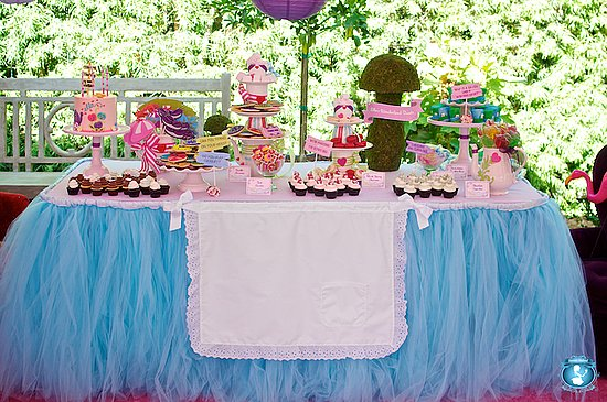 Alice in Wonderland Dessert Table