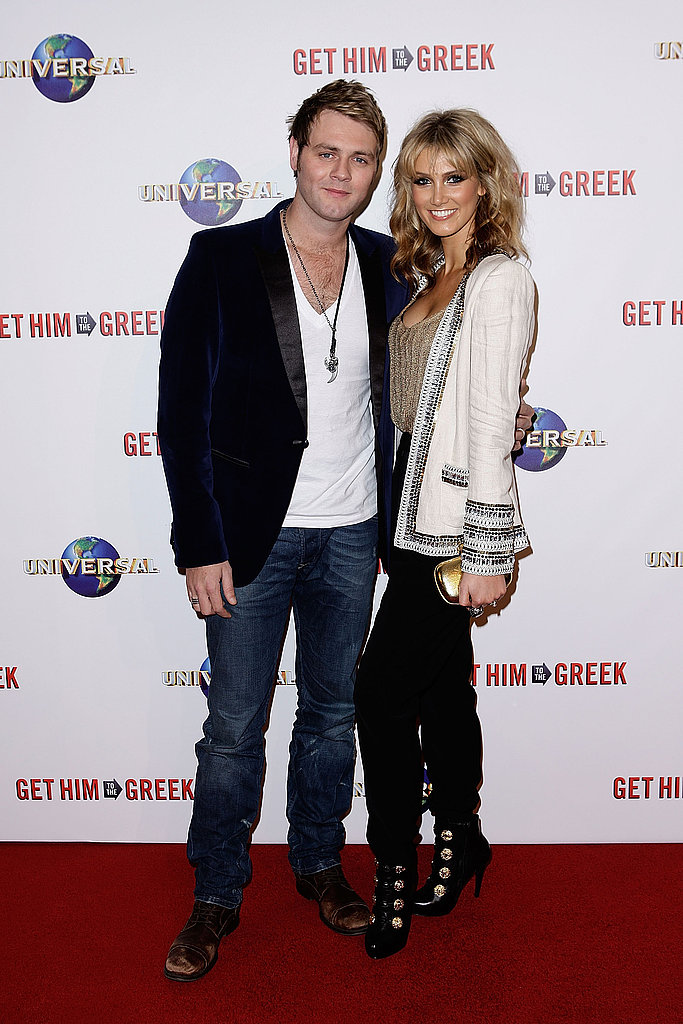 Brian and Delta joined forces at the Sydney premiere of Get Him to the Greek in June 2010.