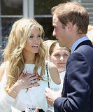 Delta was one of the lucky ladies who got to meet Prince William when he visited Australia in Jan. 2010.