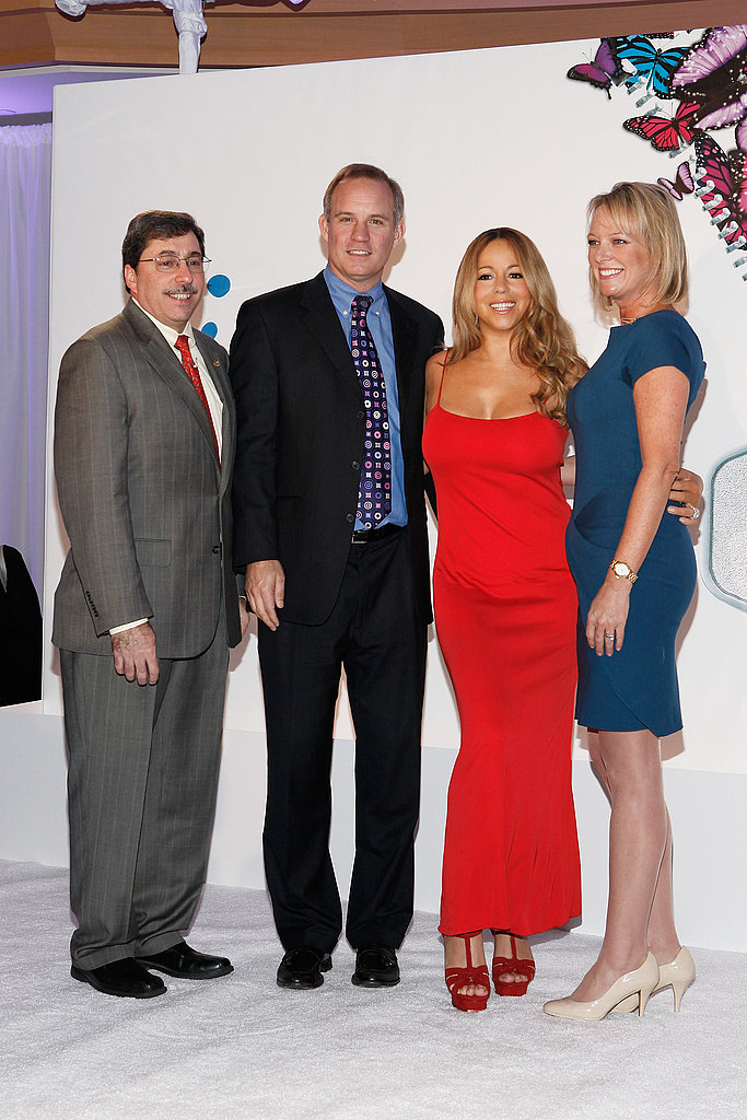 Mariah Carey at a Jenny Craig event in NYC.