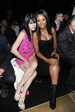 Selma Blair and Jennifer Hudson sat front row for Versace for H&M's presentation.