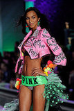 Lais Ribeiro in the Pink portion of the Victoria's Secret Fashion Show.