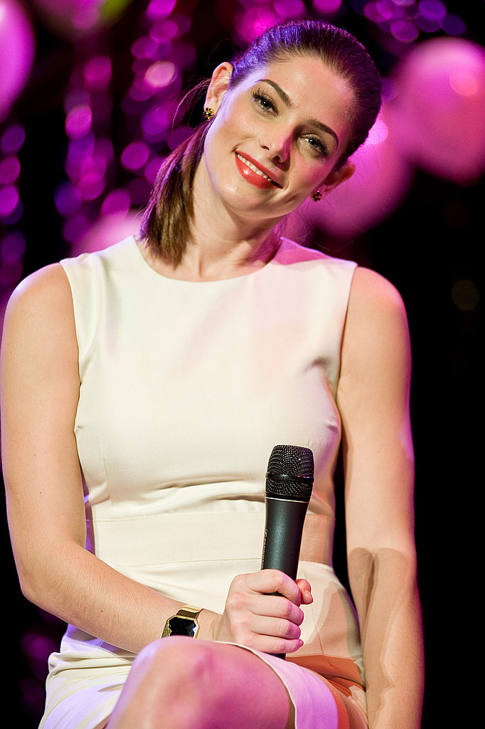 Ashley Greene was darling on stage.