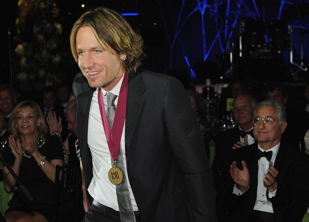 Keith Urban received a BMI Country Award.