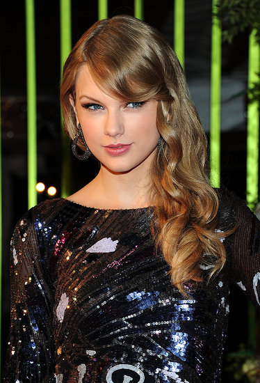 Taylor Swift went for a sequined dress in Nashville.