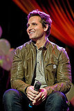 Peter Facinelli flashed an adorable smile.