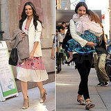Katie Holmes Spends Her Morning With Rachael Ray and the Afternoon With Suri