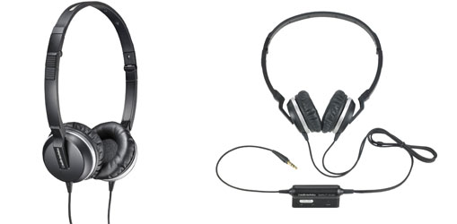 Audio Technica ATH-ANC1 QuietPoint Noise Canceling Headphones