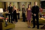 Emmett and Rosalie and Carlisle and Esme pair off in this scene from New Moon.