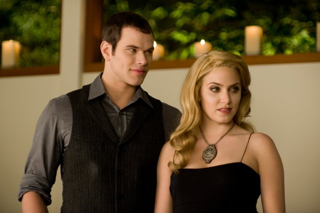 Rosalie found her future husband, Emmett, right after he was mauled by a bear. She wouldn't turn him into a vampire, but Carlisle did after she carried him 100 miles.