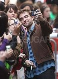 Robert Pattinson took a self portrait for a fan.