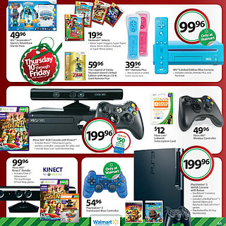 Walmart Black Friday Video Game Sales
