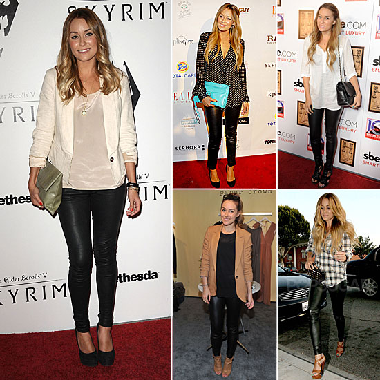 In Love With . . . Lauren Conrad's Leather Leggings