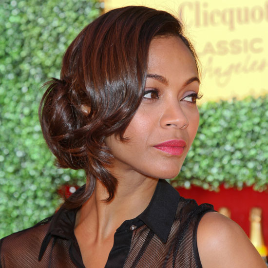 1 Star, 5 Fresh Hairstyles: Zoe Saldana