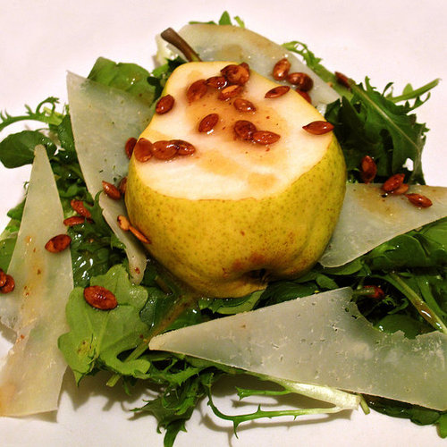 Spicy Manchego and Pear Salad Recipe