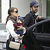 Natalie Portman Pictures With Son Aleph Shopping in LA