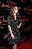 Nikki Reed in Dolce & Gabbana at a Breaking Dawn event in San Francisco.