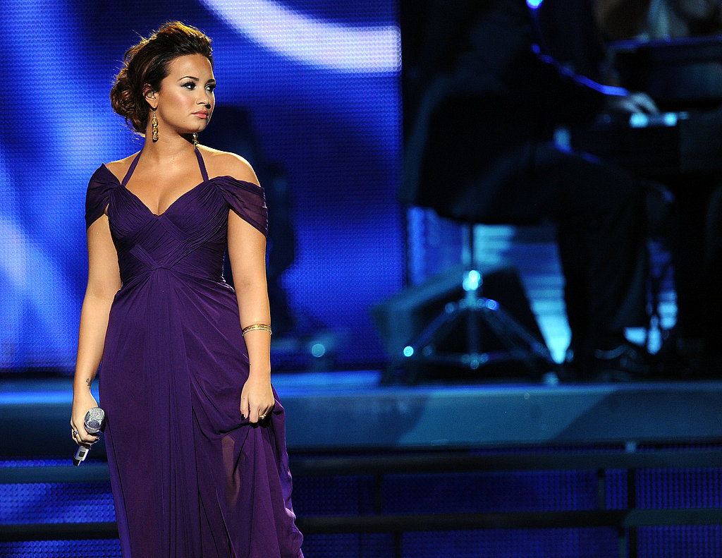 Demi Lovato looked gorgeous at the Latin Grammys.