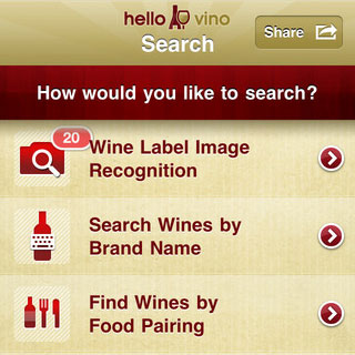 Hello Vino Wine iPhone App
