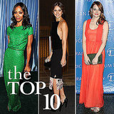Fab's Top 10 Celebrity Looks of the Week — Jessica, Emma, Zoe, and More!