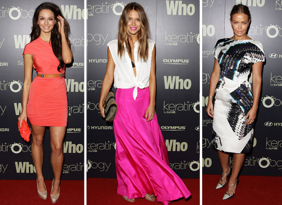 Pictures of Celebrities at the Who Magazine Sexiest People List Party: Lara Bingle, Jodi Gordon, Mel B, Ricki-Lee Coutler &amp; more