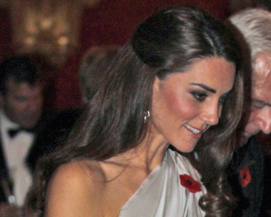 Kate Middleton at Remembrance Day Charity Function